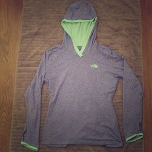 The North Face Tops - The North Face Women's Flashdry Shirt with Hoodie